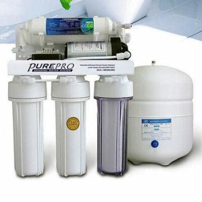 PurePro EC 105P szivattyús ozmózis víztisztító