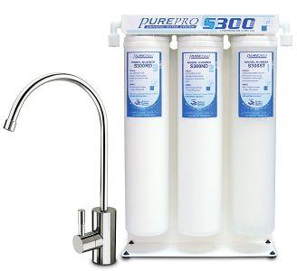 PurePro S 300 as aktívszenes víztisztító pult alatti kivitel